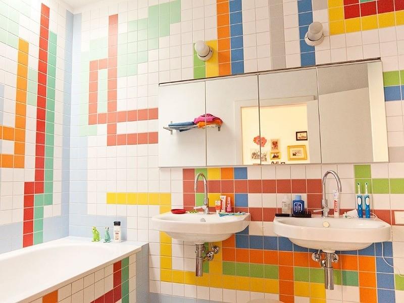 Цветна баня