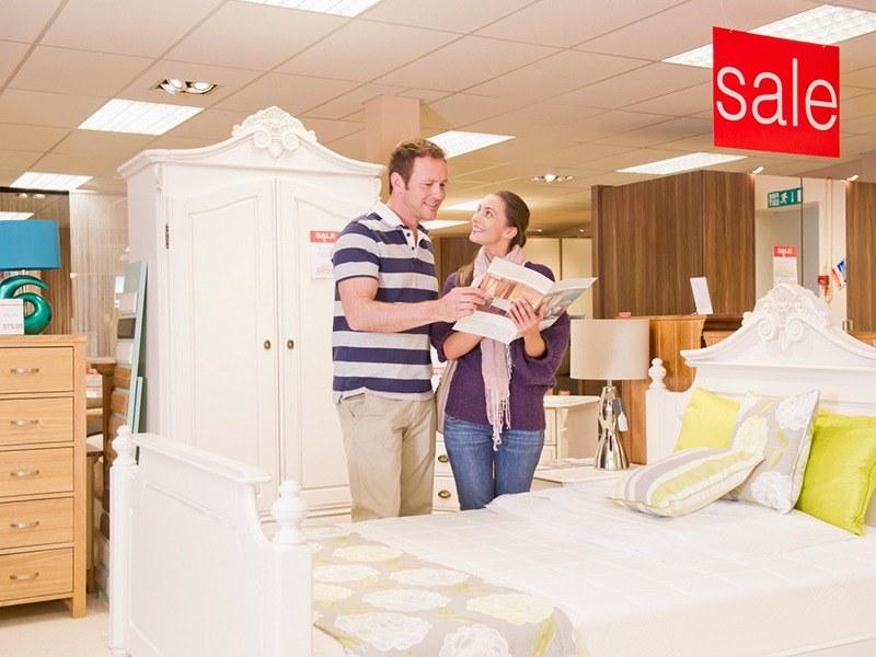 Пазаруване на мебели за дома