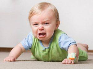 Различни проблеми при бебетата