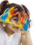 С кой цвят рисува детето