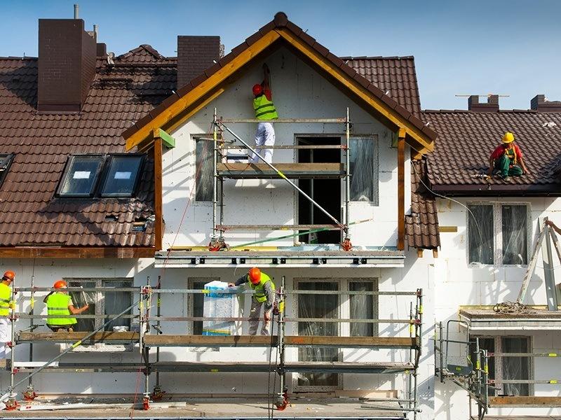 Саниране на фасада на къща