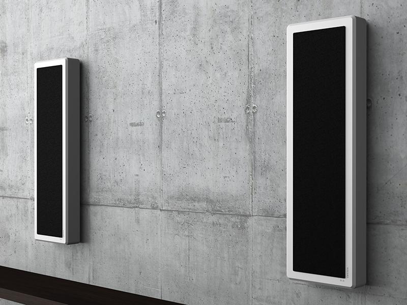 Вградени в стената говорители