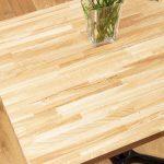Дървен плот за маса