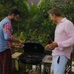готвене на терасата