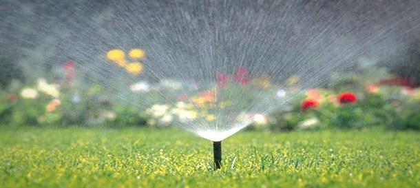 напояване на градината