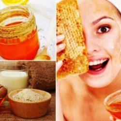 Маска за лице с мед