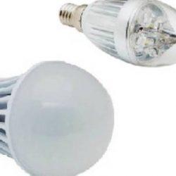 Домашнно осветление с лед лампи